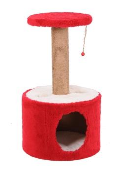 Roll - Къща / Драскало / Катерушка за Котки 40х40х75 см