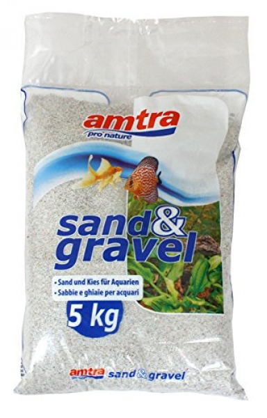 CROCI - Светлосин Пясък Дъно за Аквариум 2-3 мм - 5 кг