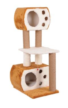 Aspendos - Къща / Драскало / Катерушка за Котки 40х55х127 см | Pet Planet